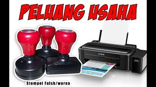 Video TUTORIAL / CARA MEMBUAT STEMPEL FLASH DENGAN PRINTER BIASA (INKJET) download MP3, 3GP, MP4, WEBM, AVI, FLV November 2018