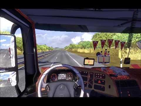 [ETS2] Mercedes Benz Axor 1840 İle Uçuyoruz