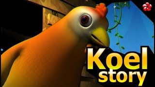 Poopy story | puppi and the cockoo | malayalam cartoon story for kids