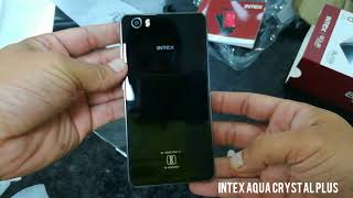 INTEX AQUA CRYSTAL PLUS unboxing and overview