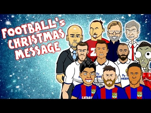 442oons Christmas Speech 2016! | w/ Messi, Ronaldo, Griezmann & more!