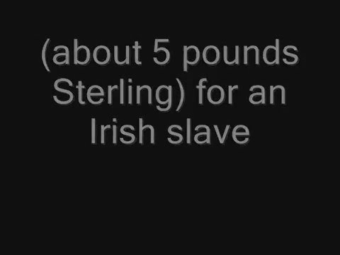 Irish Slave Trade : History