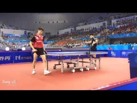 张继科 Zhang Jike VS. 周雨 Zhou Yu 2017 National Game of China