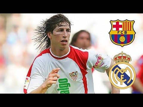 18 Year Old Sergio Ramos Destroying Barcelona & Real Madrid