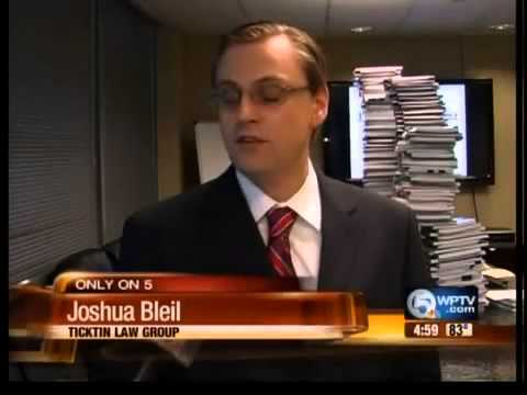 Do you need an attorney? The Ticktin Law Group on NBC (WPTV Channel 5)