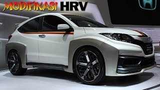 600 Modifikasi Mobil Hrv Silver Gratis Terbaik