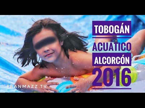 tobogán-acuático-en-#alcorcón-mas-grande-de-españa-|-@franmazztv-exclusivo-7/9/16