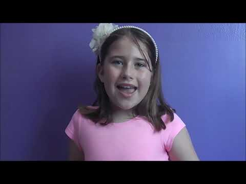 I Just Can't Wait To Be King Cover By 10 Year Old Faith Graham