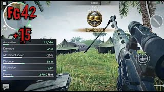Fg42 & Support Armor - Pacific Island Deathmatch Gameplay ☆ World War Heroes