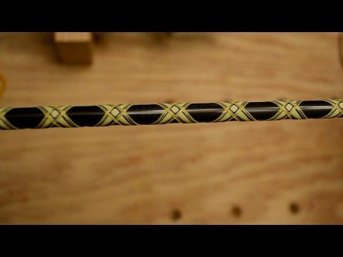 Diamond Wrap Design / Custom Fishing Rod