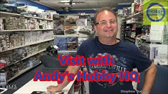 Visit With Andy's Hobby Headquarters, Glendale, AZ
