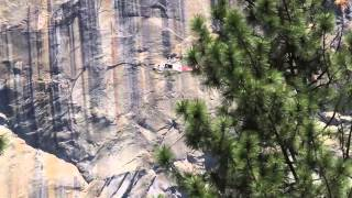 Helicopter Search and Rescue practice Drill Yosemite National Park