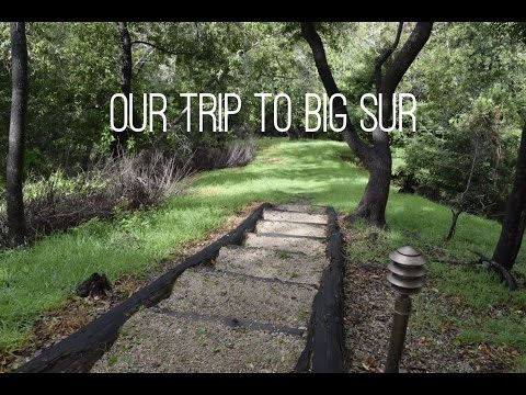Our Trip to Big Sur // Dandrew Travels