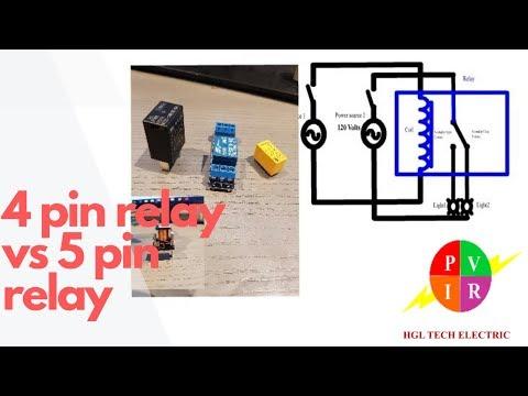4 pin relay vs 5 pin relay 4 pin relay and 5 pin relay. Black Bedroom Furniture Sets. Home Design Ideas