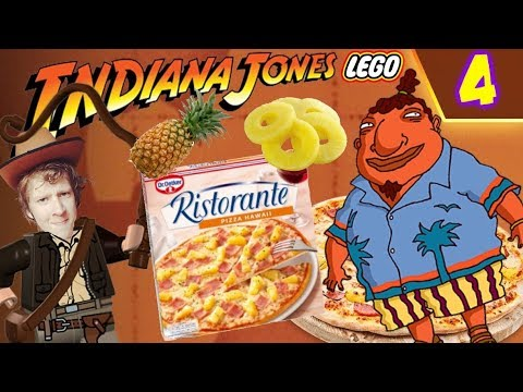 PIZZA HAWAÏ IS EEN LEUGEN! - LEGO Indiana Jones: The Original Adventures #4