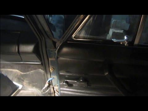 Как отремонтировать провисшую дверь ваз 2106 - YouTube