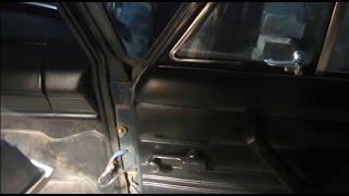 Снятие (замена) двери на ВАЗ 2101, 2103, 2105, 2106 и 2107