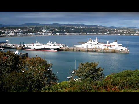 Isle of Man, Douglas Marina, Douglas Harbour and Marine Drive