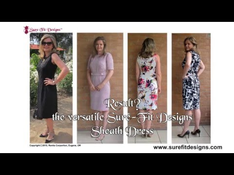 How to design the basic Sheath Dress with Sure-Fit Designs™