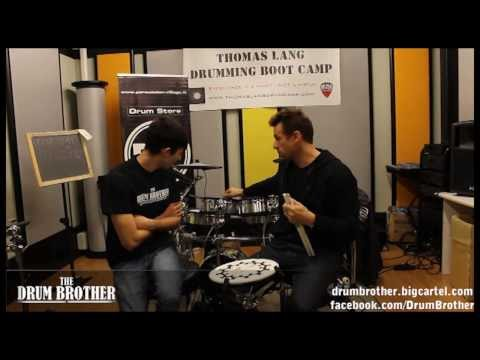 Thomas Lang - 'Roland V Electronic Drum' drum interview