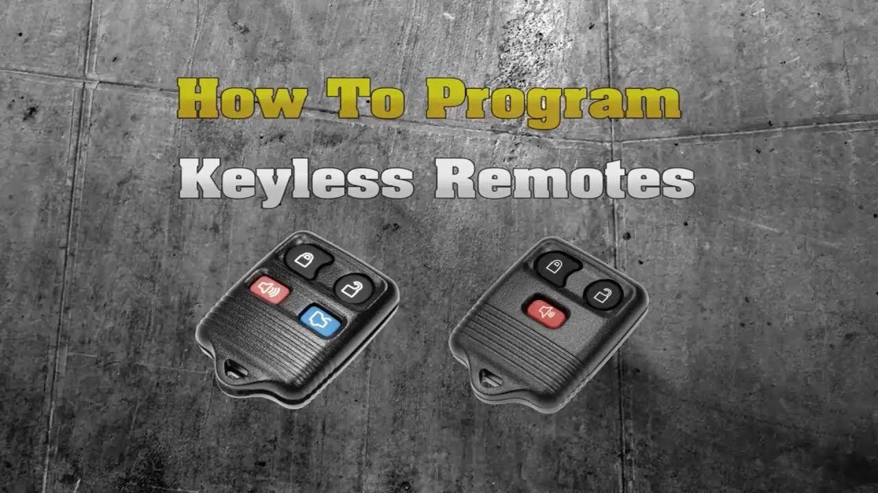 Dorman Keyless Remote Programming For Ford Youtube Infiniti Setup