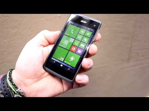 Acer Liquid M220 Hands On – das 79€ Windows Phone [deutsch]