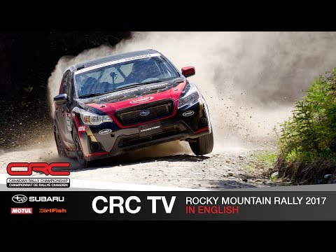 CRC TV: Rocky Mountain Rally 2017  English