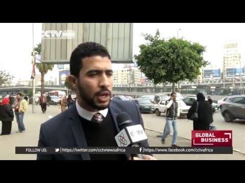 Egyptian taxis protest against Uber