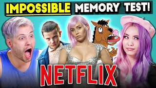 The Impossible Netflix Memory Test | Too Much Information thumbnail