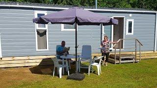 Nieuw Chalet op Camping Rotandorp in Noordwolde fr.
