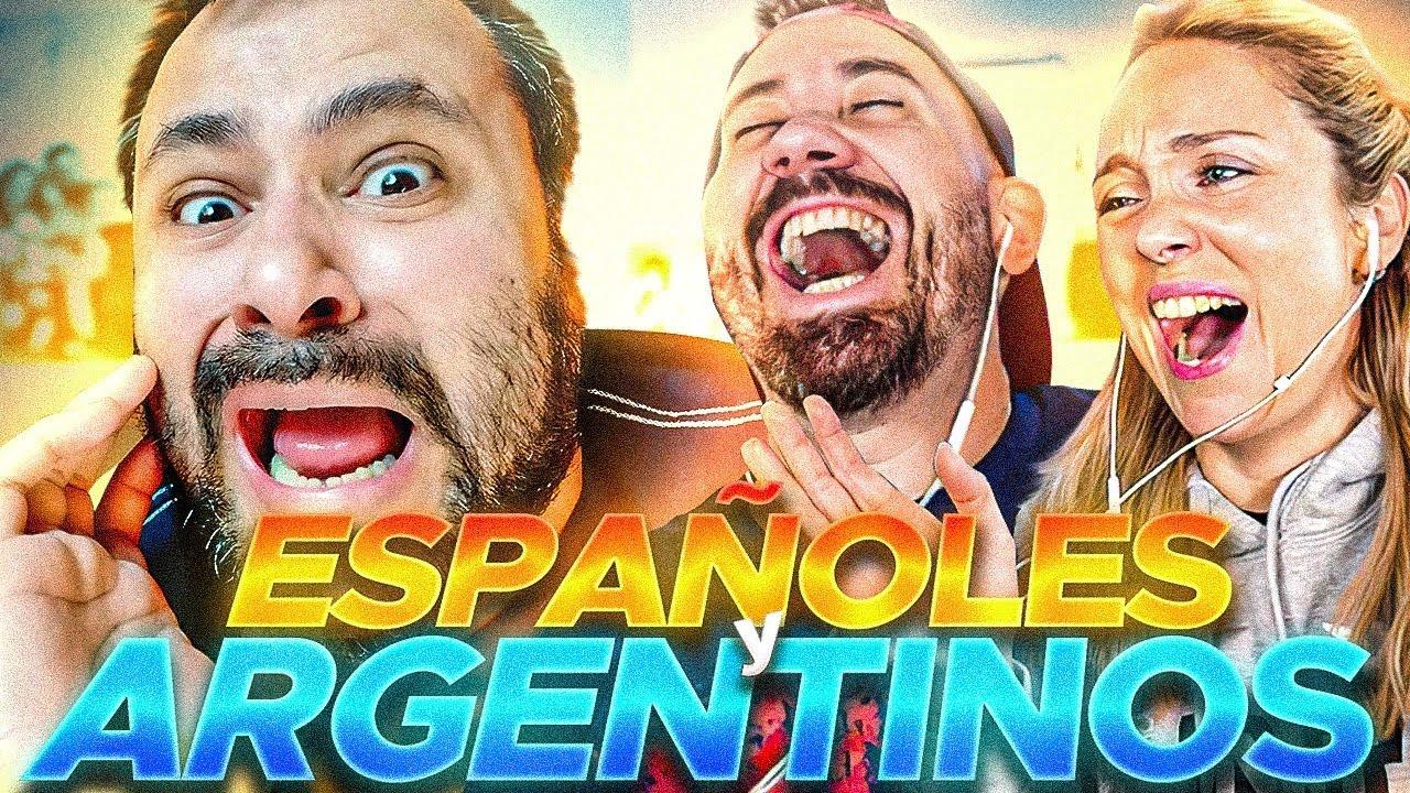 DIFERENCIAS ENTRE ARGENTINOS 🇦🇷 ESPAÑOLES 🇪🇸 Ft Nicolas Biffi