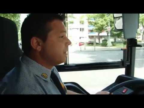 Mainz: Hybrid-Bus im Probebetrieb