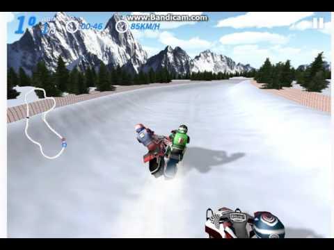 Игры для мальчиков - Гонки на снегоходах, супер зимние гонки Show Cross