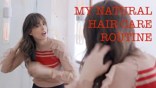 MY NATURAL HAIR CARE ROUTINE