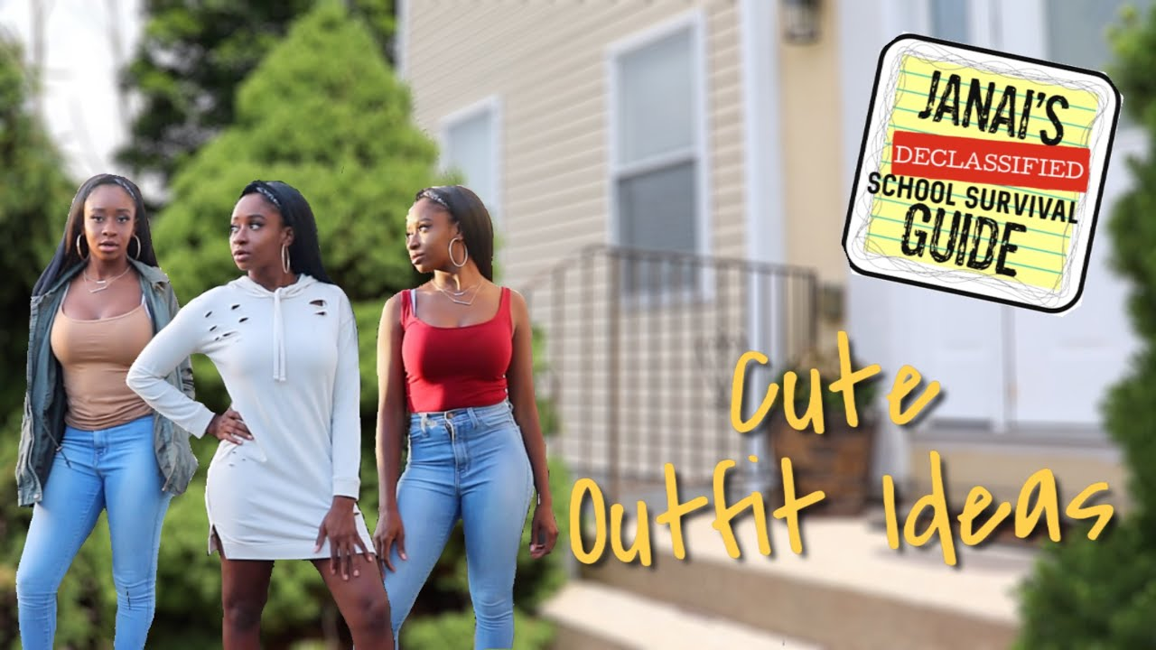 [VIDEO] – Cute Outfit Ideas For School | Janai Imani