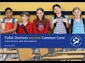 TUDA Districts and the Common Core: Strategies and Resources