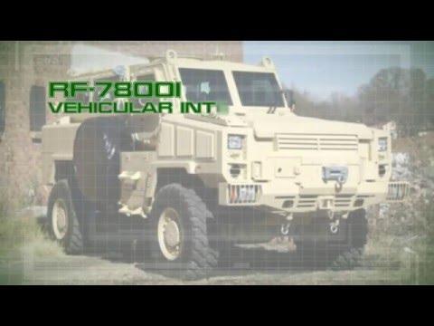RF-7800I Vehicular Intercom System