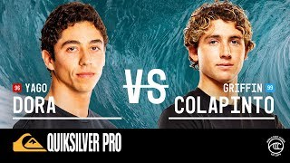 Griffin Colapinto vs. Yago Dora - Round of 32, Heat 14 - Quiksilver Pro France 2019