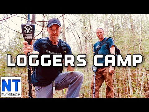 Metal Detecting An Old Loggers Camp In New Hampshire