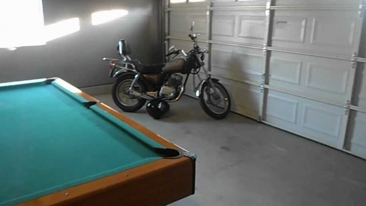 Man Cave Pool Room Garage YouTube - Pool table in garage