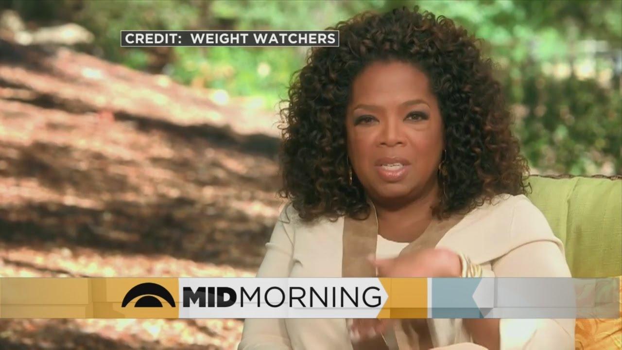 Oprah Unveils First Weight Watchers Commercial