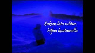 Rajaton: Talvi-iltana +Lyrics