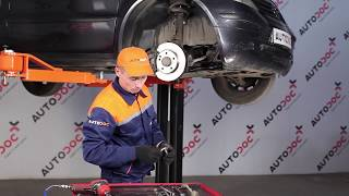 Installazione Asta puntone stabilizzatore posteriore e anteriore MERCEDES-BENZ A-CLASS: manuale video