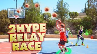 2HYPE BASKETBALL SKILLS RELAY RACE!