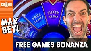 👍 Free Games BONANZA! 💰 MAX Bet @ San Manuel Casino ✪ BCSlots