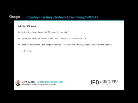 Live Trading Session – Discover tactics of a Pro-Trader