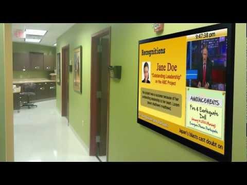 Corporate Communications  Digital Bulletin Board