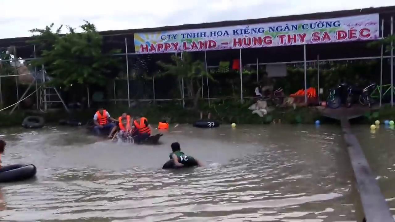 Khu vui chơi Happy land Hùng thy Sa Đéc lh.0918708965
