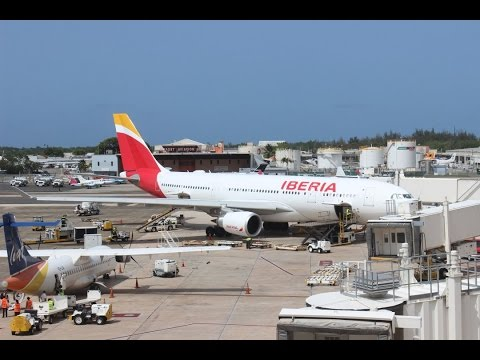 [Trip Report] Iberia A330-200 Madrid (MAD) - San Juan (SJU) [HD]