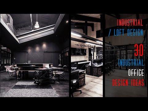 30 Industrial Office Design Ideas